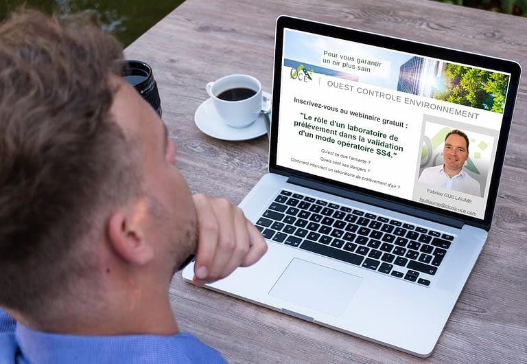 Un webinaire pour informer les artisans des risques liés à l'amiante